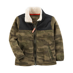 Carter's Midweight Fleece Jacket-Preschool Boys