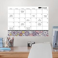Brewster Wall Kerala Coloring Calendar Decal Message Board