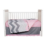Trend Lab® 3-pc. Cotton Candy Crib Bedding Set