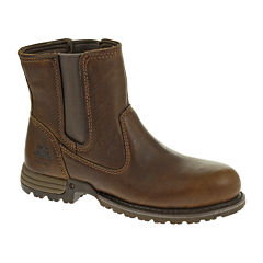 CAT® Freedom Womens Leather Work Boots