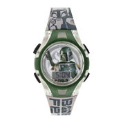 Star Wars® Boba Fett Kids Flashing Digital Watch