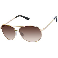 Liz Claiborne Aviator Aviator UV Protection Sunglasses