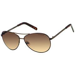 Liz Claiborne Aviator Aviator UV Protection Sunglasses