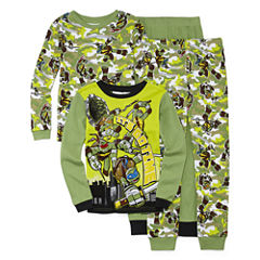 4-pc. Teenage Mutant Ninja Turtles Pajama Set- Boys 4-10
