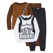 4-pc. Star Wars Pajama Set- Boys 4-10