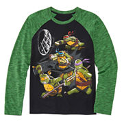 Teenage Mutant Ninja Turtle Raglan Tee - Boys 8-20