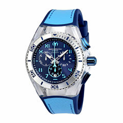 Techno Marine Mens Blue Strap Watch-Tm-115069