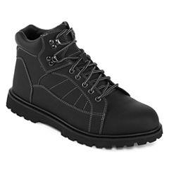 Big Mac Benton Mens Steel Toe Work Boots