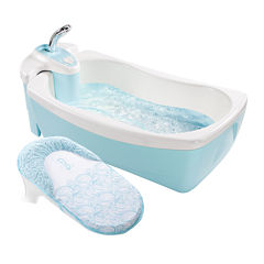 Summer Infant® Lil' Luxuries® Whirlpool, Bubbling Spa & Shower - Blue