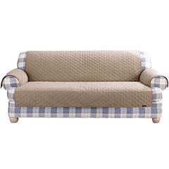 SURE FIT® Cotton Duck Pet Furniture Cover Collection