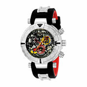 Invicta Unisex Black Strap Watch-22733