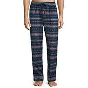 Stafford® Microfleece Pajama Pants - Big & Tall