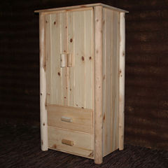 Frontier Pine Armoire