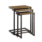 Carolina Chair & Table 3-pc. Nesting Tables