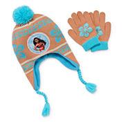 Disney Girls Moana Cold Weather Set-Big Kid