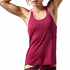 Reebok® Workout Poly Tank Top