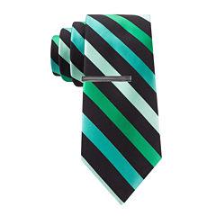 JF J. Ferrar® Celebration Stripe II Slim Tie