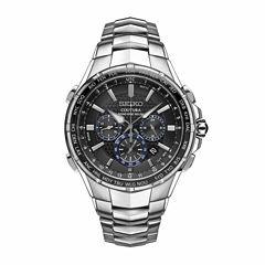 Seiko Mens Silver Tone Bracelet Watch-Ssg009