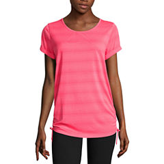 Made for Life™Short-Sleeve Shirred Side-Tie Tunic