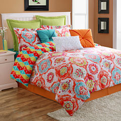 Fiesta Ava Medallion Reversible Comforter Set