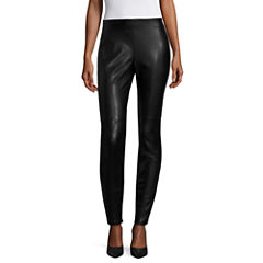 a.n.a Solid Woven Leggings-Talls