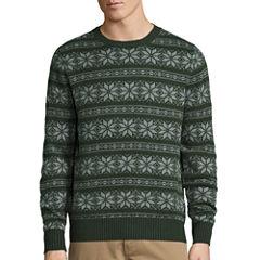 St. John's Bay® Long-Sleeve Novelty Sweater