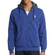 U.S. Polo Assn.® Long-Sleeve Full-Zip Sherpa Hoodie