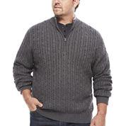 IZOD® Long-Sleeve Durham Sweater - Big & Tall