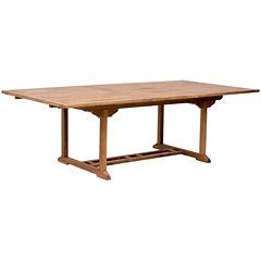 Zuo Modern Regatta Extension Patio Dining Table