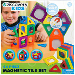 Discovery Kids 24-pc. Magnetic Tile Set