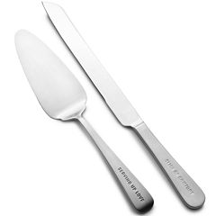 Towle® Dining Expressions Collection 2-pc. 18/10 Stainless Steel Cake and Pie Serving Set