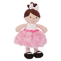 Okie Dokie® Brunette Rattle Dolly