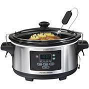 Hamilton Beach® 6-qt. Set & Forget Programmable Slow Cooker