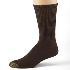 Gold Toe® 3-pk. Casual Cotton Fluffies® Crew Socks–Big & Tall
