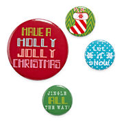 Holly Jolly Pins