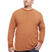 The Foundry Big & Tall Supply Co.™ Long-Sleeve Henley Shirt
