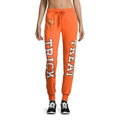 Cotton Blend Jogger Pants-Juniors