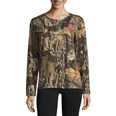 Mossy Oak Long Sleeve Camo Tee
