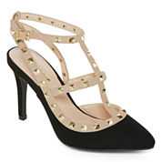 Bamboo Casper Pumps