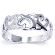 Silver Treasures Womens Sterling Silver