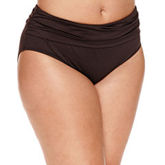 a.n.a Solid Hipster Swimsuit Bottom-Plus