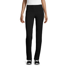 St. John's Bay Active Knit Workout Pants Petites