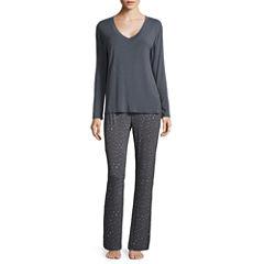 Ambrielle Jersey Pant Pajama Set