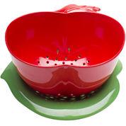 Zak Designs® GardenSeries 32-oz. Apple Colander & Bowl