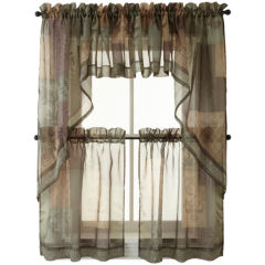 24 inch kitchen curtains for window - jcpenney