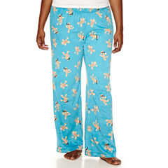 Flirtitude Microfleece Pajama Pants-Juniors Plus