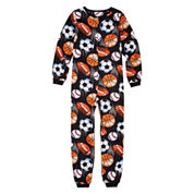 Jelli Fish Kids Boys Long Sleeve One Piece Pajama-Big Kid