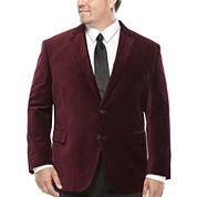JF J. Ferrar® Velvet Sport Coat - Big & Tall