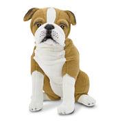 Melissa & Doug® English Bulldog Plush
