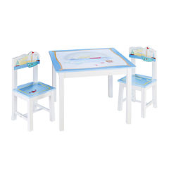 Guidecraft Sailing Table and Chairs Set